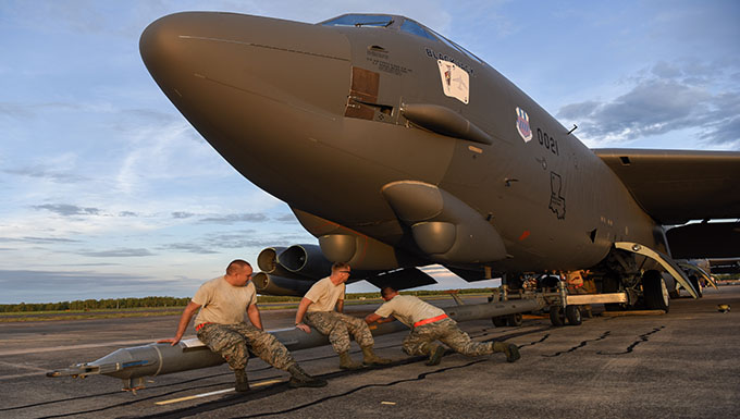 PACAF Airmen, B52s arrive in Australia for combined training