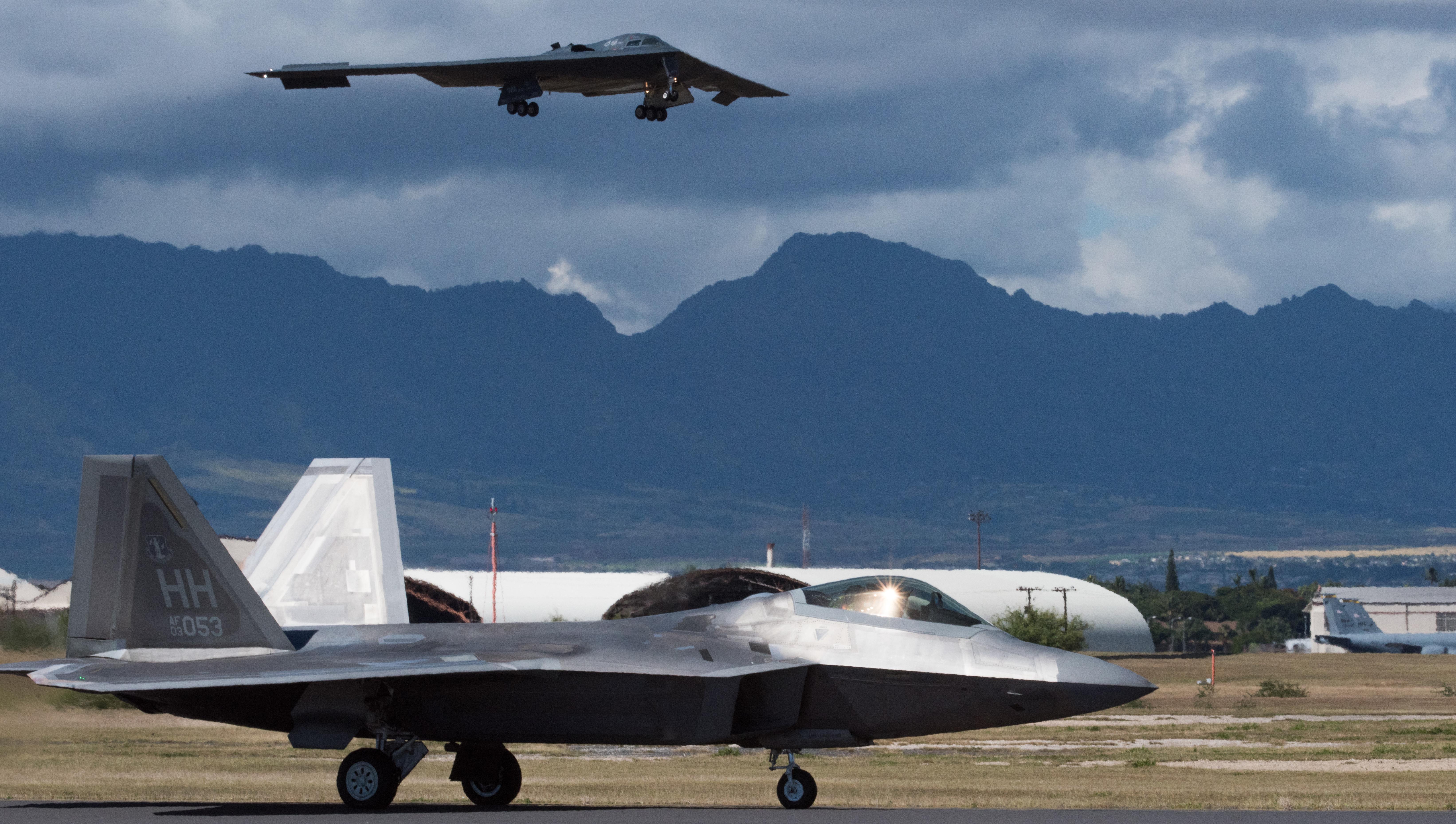 B-2 bombers deploy to Hawaii