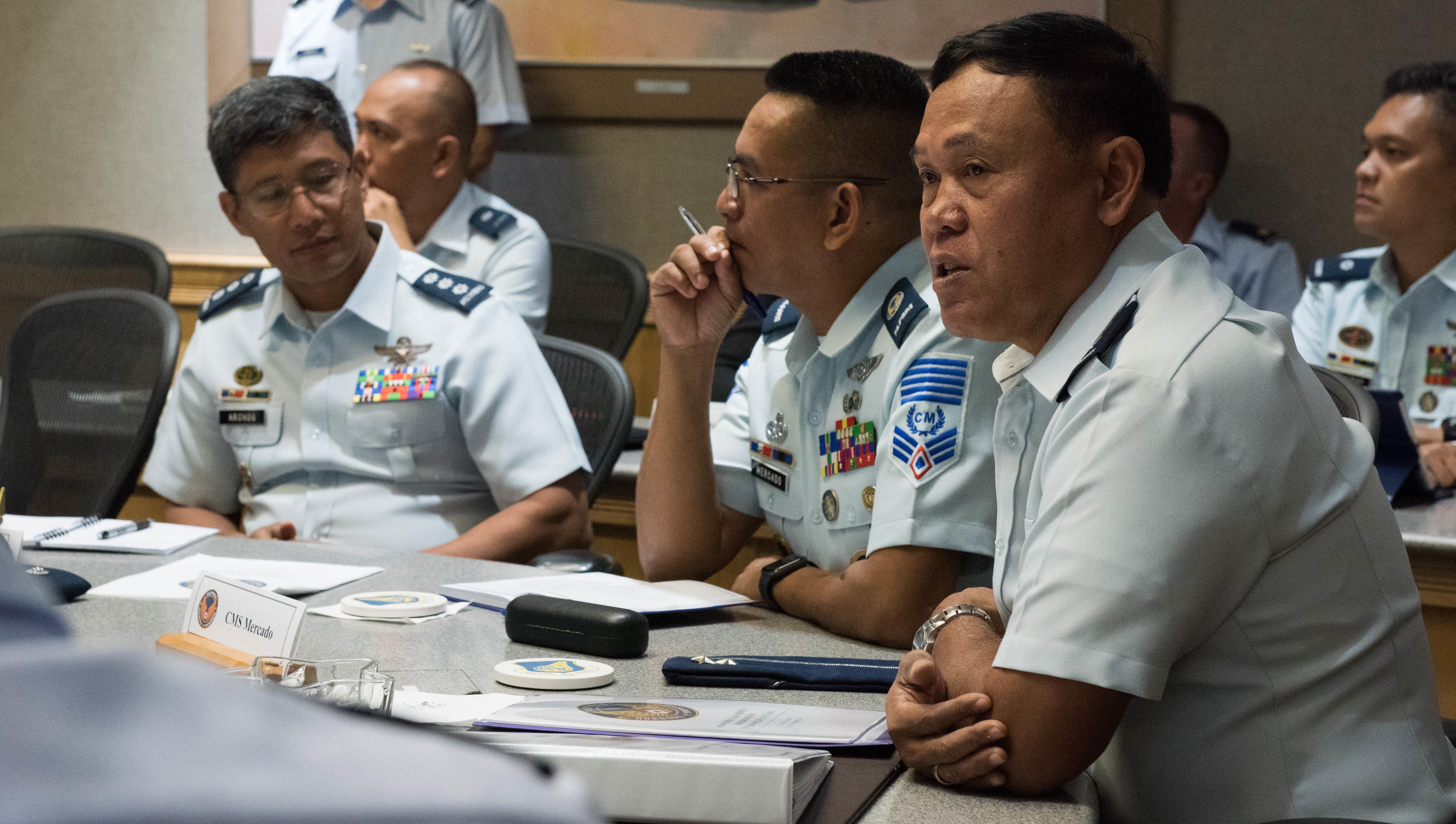 PACAF hosts Philippine Airmen, strengthens relations