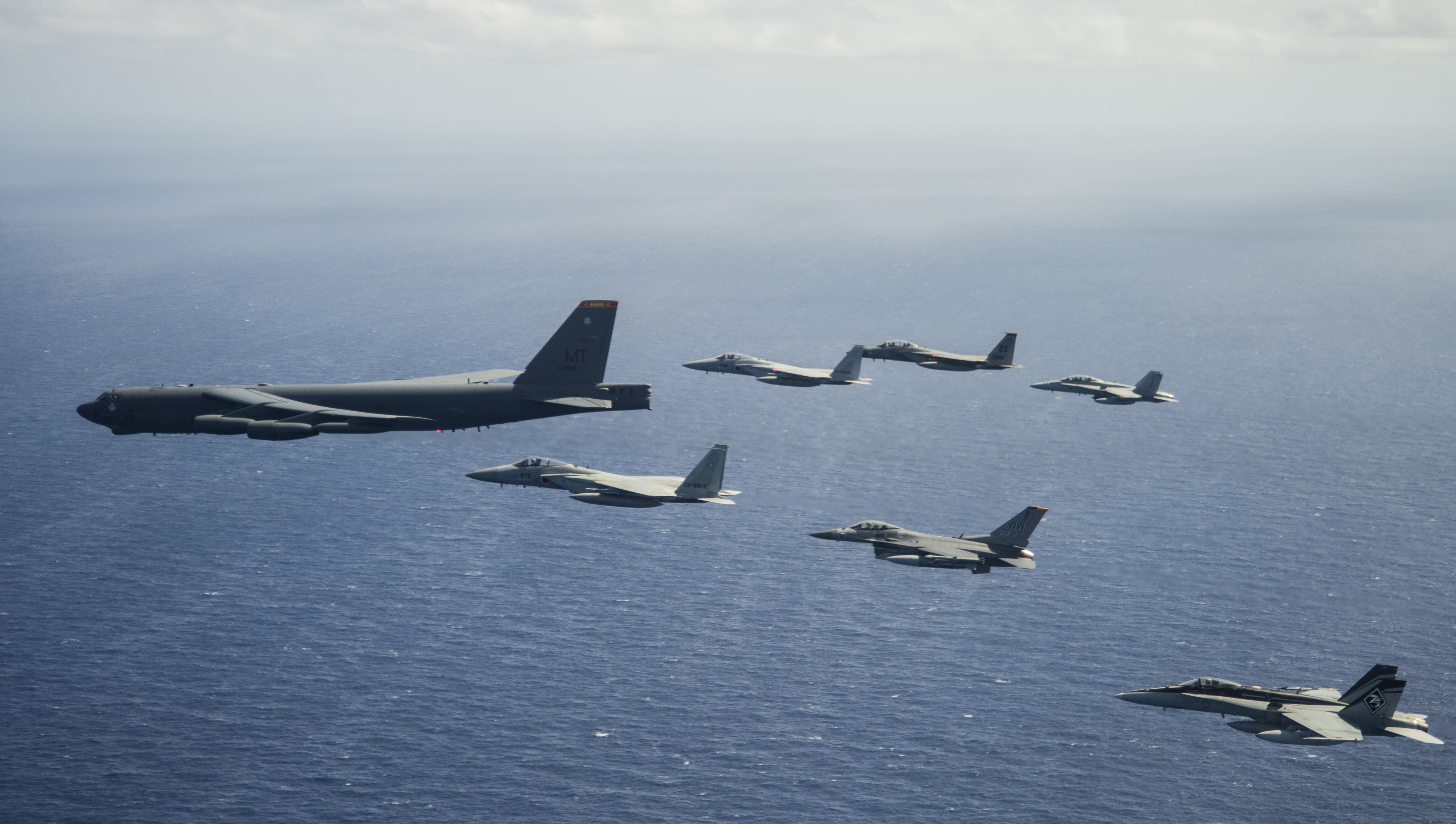 U.S., Japanese and Australian forces conclude COPE North 2019