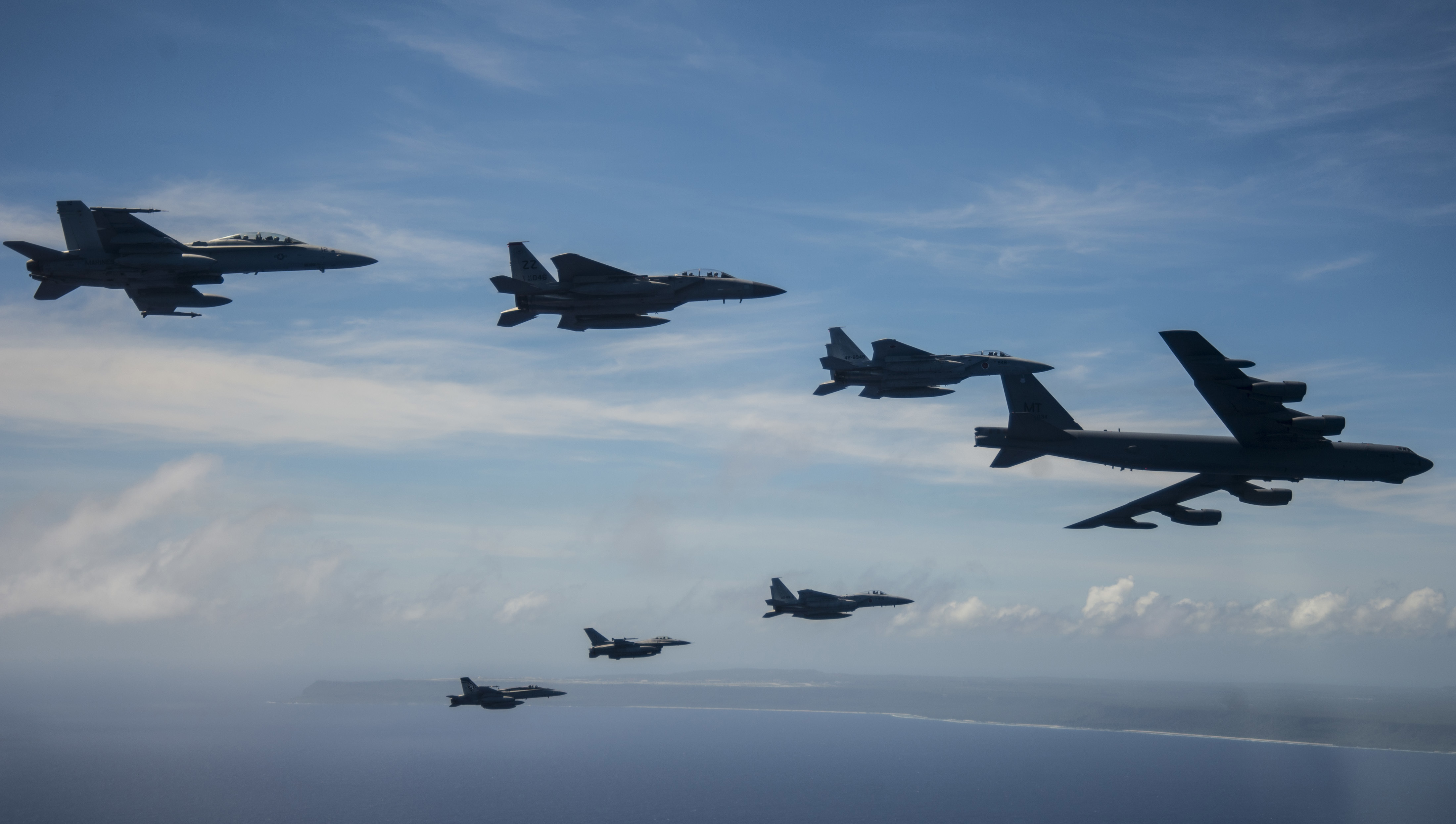 COPE North 19 alliance demonstrates combat airpower