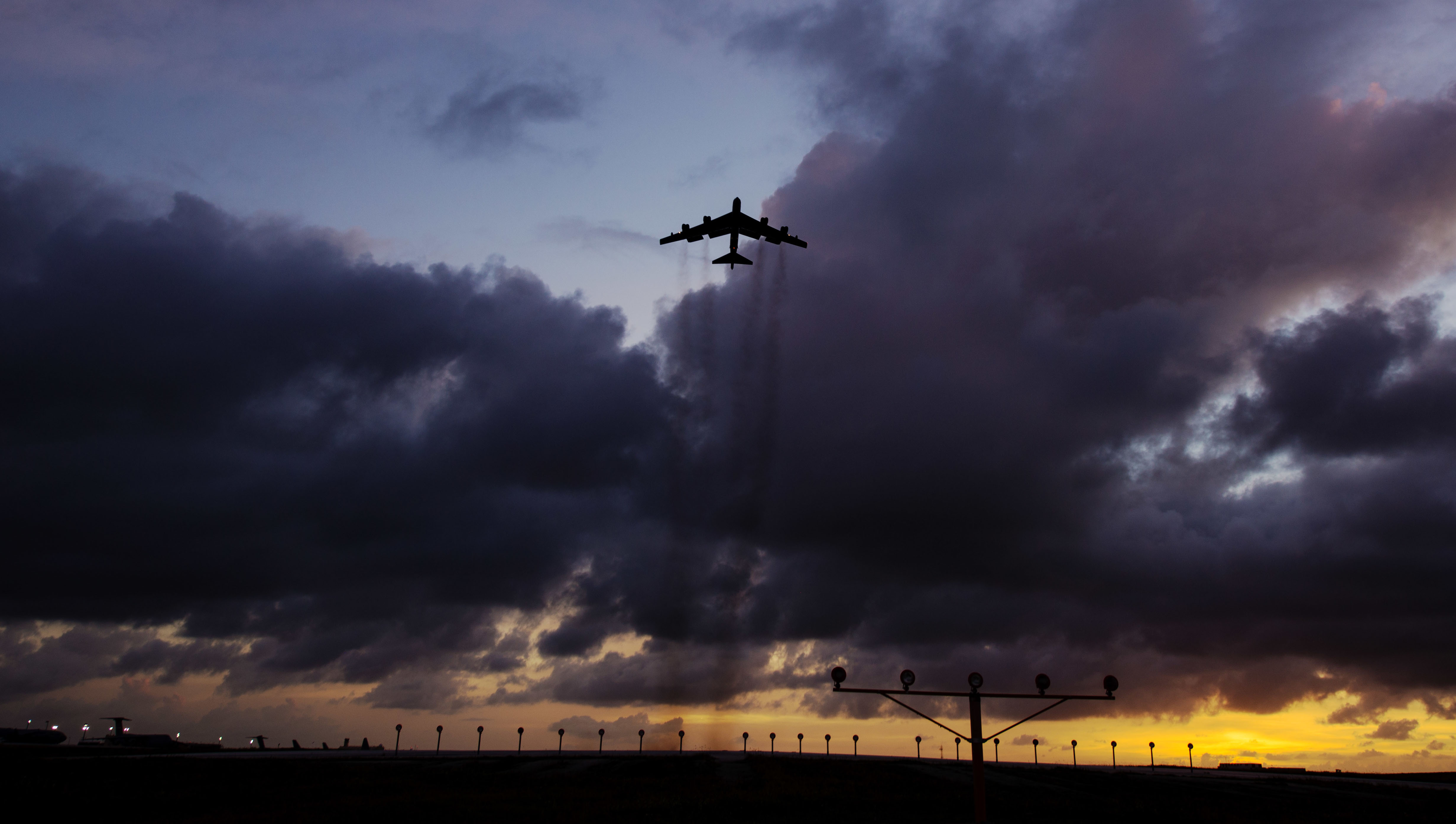 U.S. Air Force bombers fly coordinated missions from Indo-Pacific, Europe