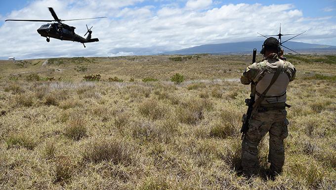 AF Special Ops deploys alongside Marines