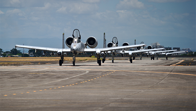 A-10's complete second USPACOM Air Contingent mission