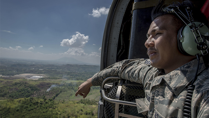 Filipino-American Airmen return home, serve PACAF Air Contingent in Philippines