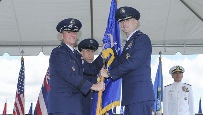 O'Shaughnessy assumes command of PACAF