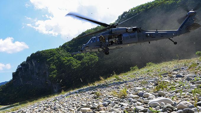 Rescue teams hone skills