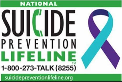National Suicide Prevention Hotline Link